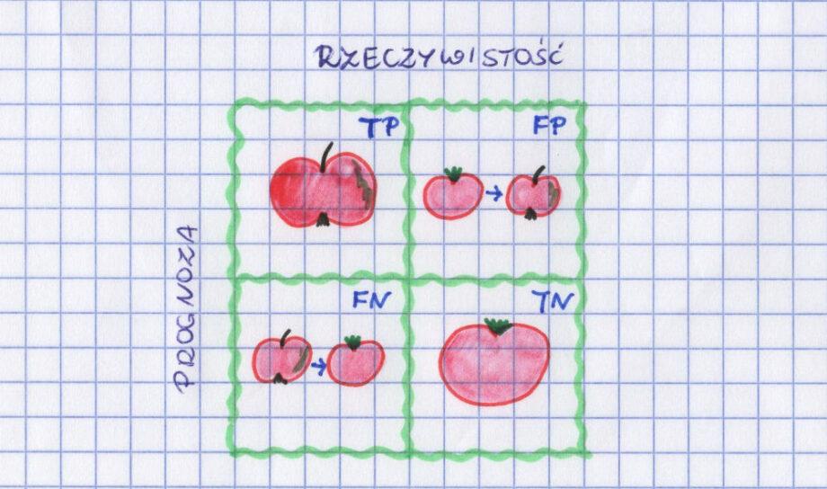 macierz błędów jabłko pomidor